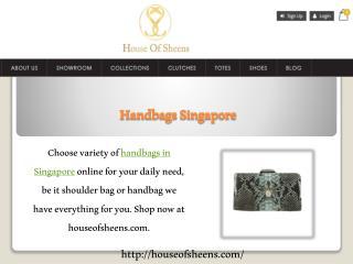Handbags Singapore