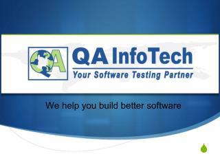 QA InfoTech | Overview