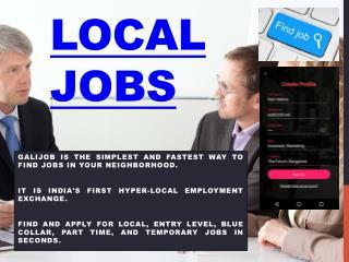 Local Job Sites