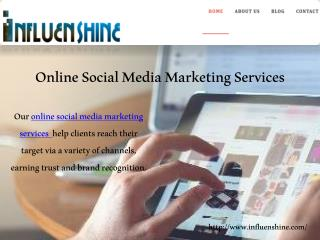 Online Social Media Marketing Services