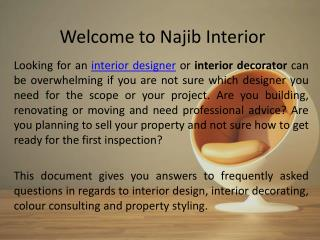 Interior design Dubai | Interior designer UAE