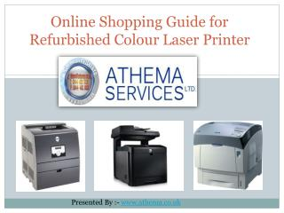 Shopping Guide for Refurbished Colour Laser Printer