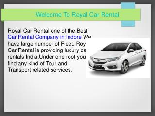 Car Rental Indore | Car Rental Company Indore