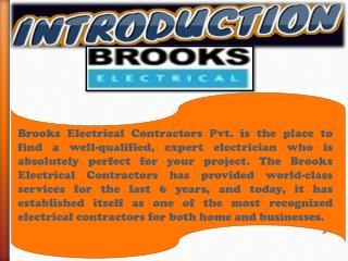 Need Electrician contractors in London Region