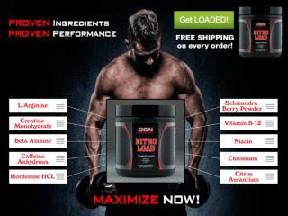 Branded Pre Exercise Energy Supplement