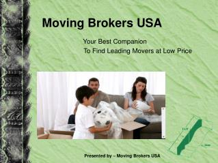 Moving Brokers USA - Search Budget Moving Agents With Us