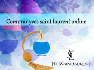 Comprar Yves Saint Laurent online