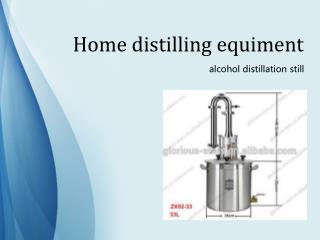 home distilling equipment moonshine still