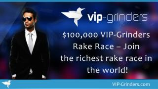 $100,000 VIP-Grinders Rake Race – Join the richest rake race in the world! | Online Poker | Rake Races