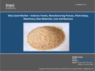 Industrial Silica Sand Market – Trends, Growth, Share, Size and Forecast