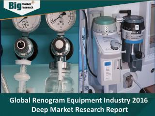 Renogram Equipment Industry Opportunities and Growth