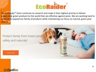 Why Natural Pest Control is The Healthy Choice