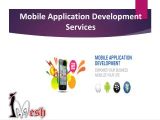Mobile Application Development Services in Chandigarh