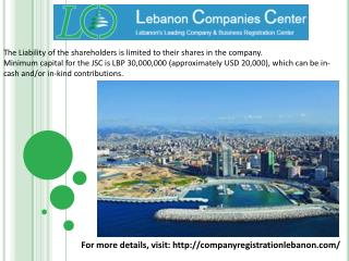 Company Registration Lebanon Services