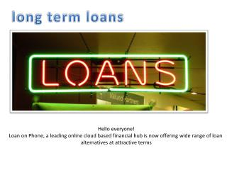 Attractive offers on easily accessible loans with no guarantor