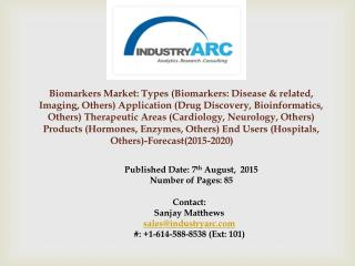 Biomarkers Market: high applications in diagnostic labs
