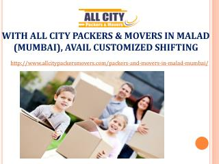 Packers and Movers in Malad(Mumbai) - All City Packers and Movers�