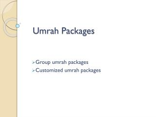 umrah package uk 2016