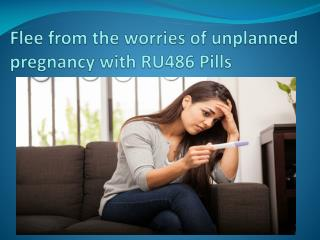 Buy RU486 Pill Mifepristone Online at Cheap Price to Eliminate Pregnancy