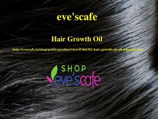 Buy Evescafe Hair Growth Oil