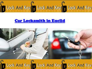 Car locksmith in Euclid