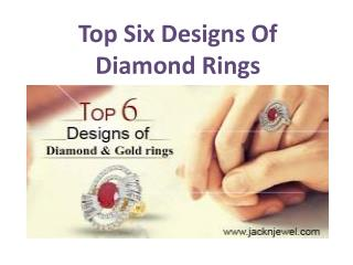 Top Six Designs Of Diamond Rings