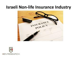 Israeli Non-life Insurance Industry: Ken Research