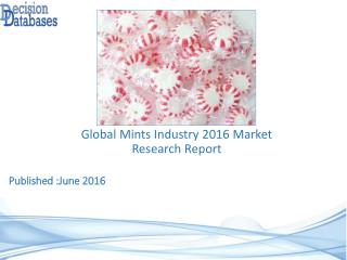 International Mints Market Forecasts to 2021