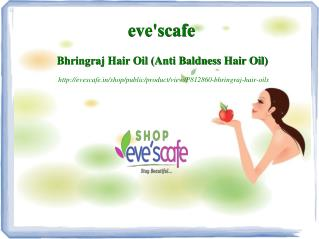 Buy Evescafe Anti Baldness Hair Oil