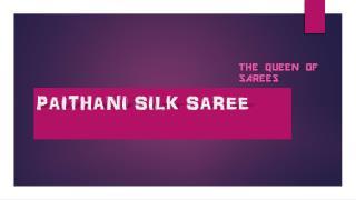 Maharashtrian Paithani Silk Saree Online