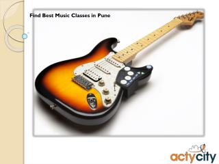 Find The Best Music Classes in Pune