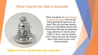 Silver Charms for Sale in Australia