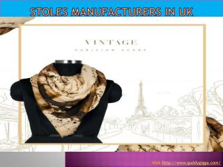 Stoles manufacturers in UK