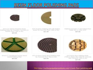 Resin Floor Polishing Pads