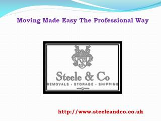 Moving Made Easy The Professional Way