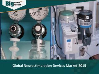 Global Neurostimulation Devices Market 2015