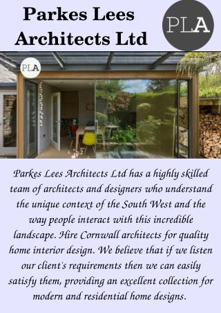 RIBA Chartered Architects in Cornwall