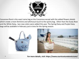 The Cassanova Tennis Bag