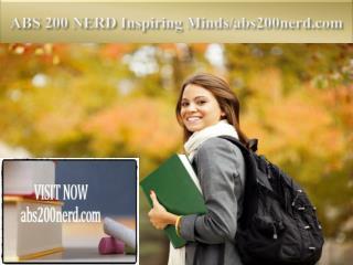ABS 200 NERD Inspiring Minds/abs200nerd.com