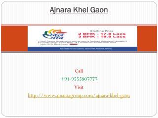 Ajnara Khel Gaon Luxurious Living