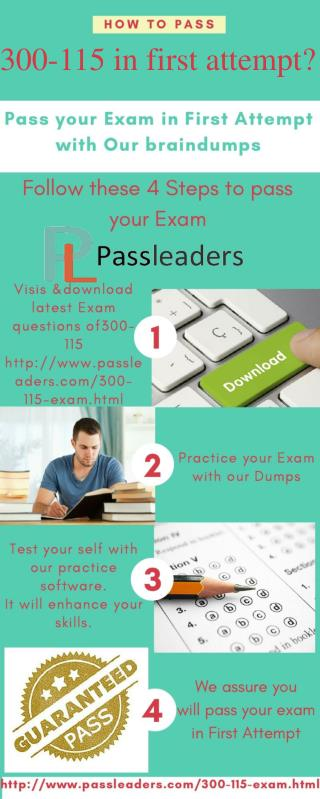 Passleader 300-115 Study Guide