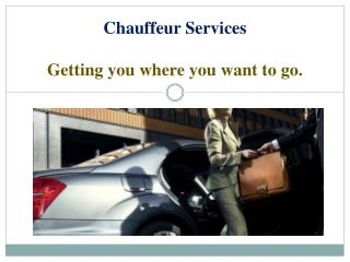 Luxury Chauffeur Services in Melbourne