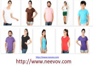 Chocolate Colour T Shirts