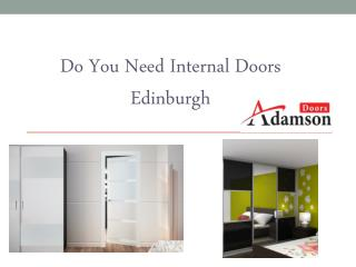 Do You Need Internal Doors Edinburgh