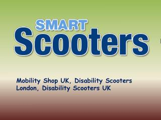 Electric Mobility Scooters and Wheelchairs in UK