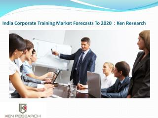 Sales Training Industry In India,Technical Training Market in India