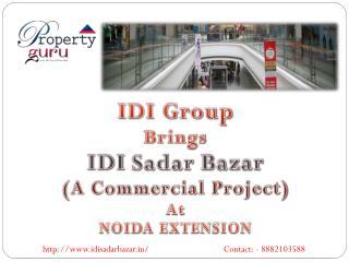 Idi sadar bazar commercial property Noida