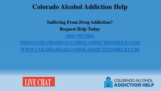 Colorado Alcohol Addiction Helpline
