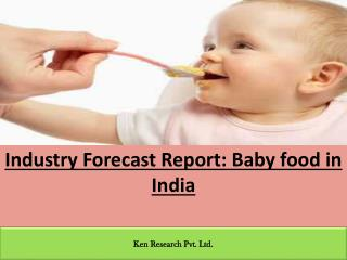 Baby food in India