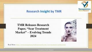 TMR Releases Research Paper, �Scar Treatment Market� � Evolving Trends 2024